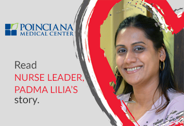 Nurse Leader, Padma Lilia