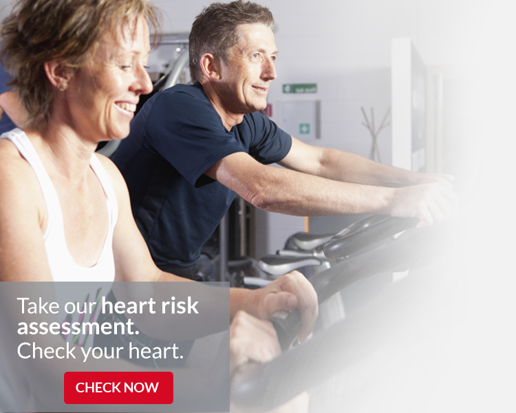 Exercising to Reduce Heart Risk. Check Your Heart Risk Now
