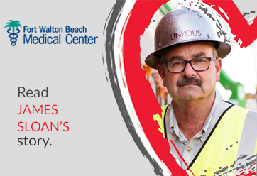 Heart Story: James Sloan. Treatment for Aortic Valve Defect.